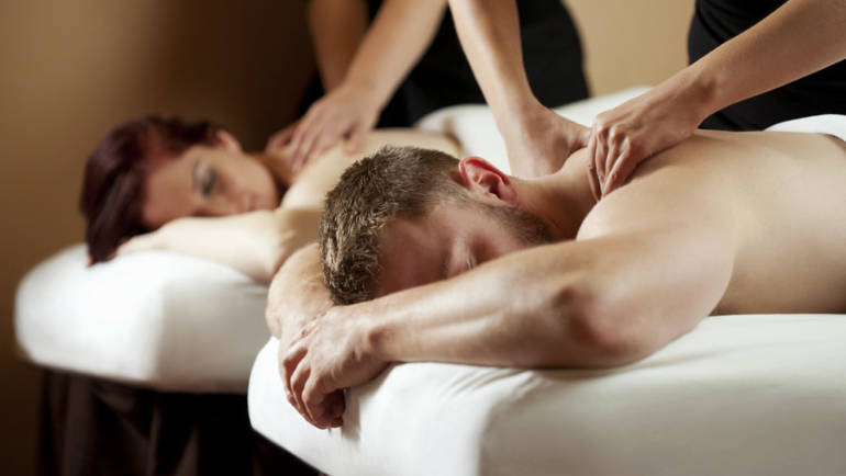 Trio massage