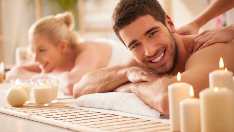 Romantic couple SPA